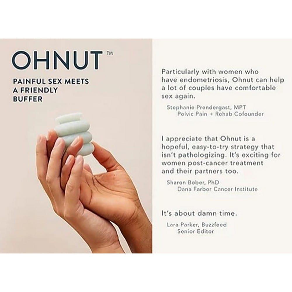 אוונוט (OhNUT) לאיבר הגברי שעוזר לנשים הסובלות כאבים בזמן קיום יחסים.