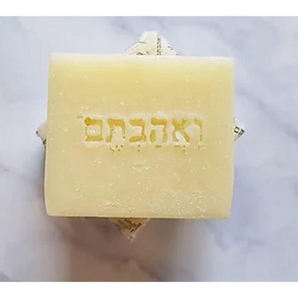 סבון אינטימי שמן זית אורגני נטול ריח – לעור רגיש,
