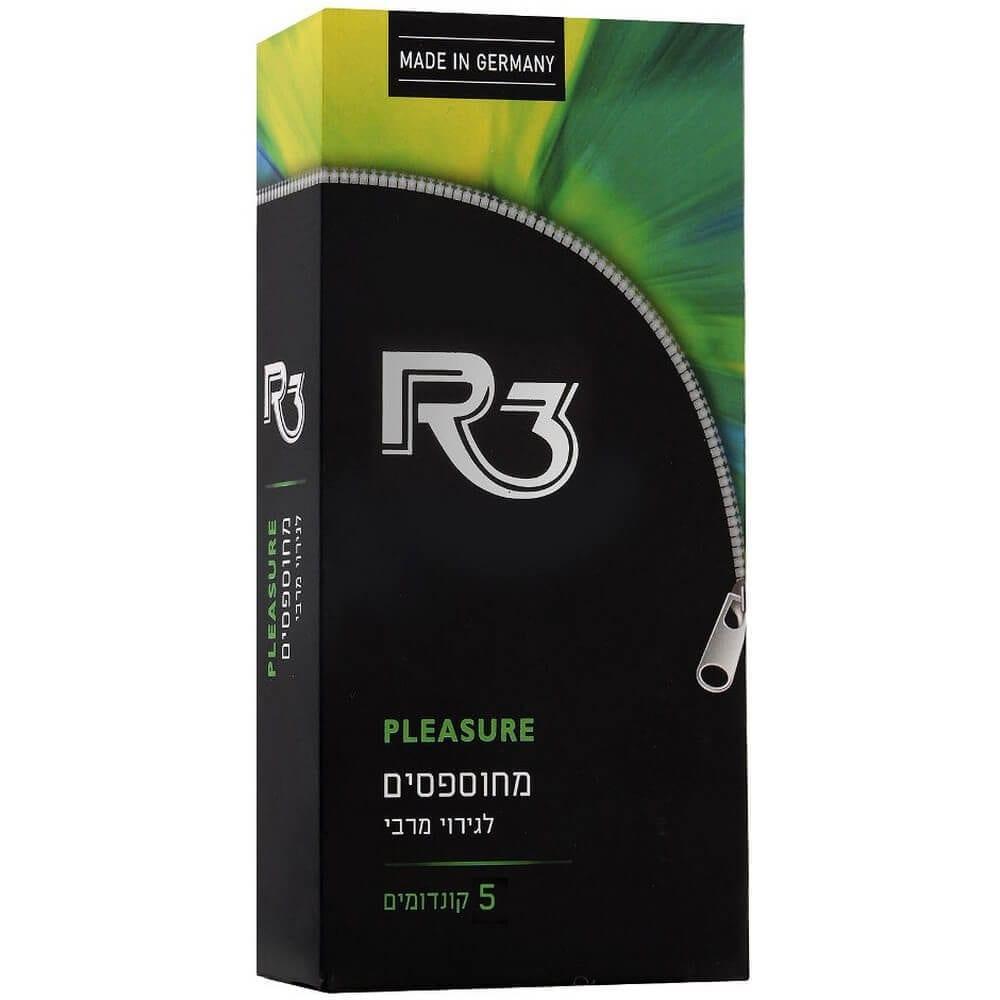 קונדומים מחוספסים R3 PLEASURE