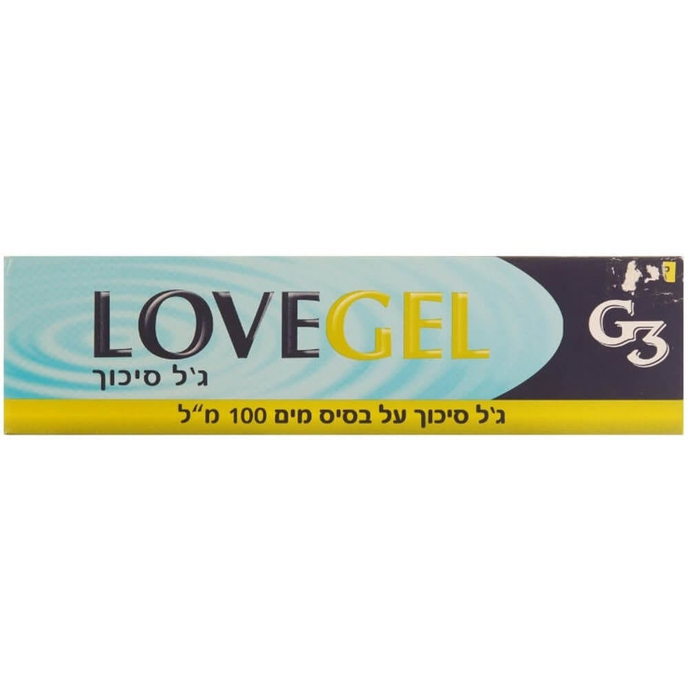 "ג'ל סיכוך R3 LOVEGEL על בסיס מים, 100 מ""ל."