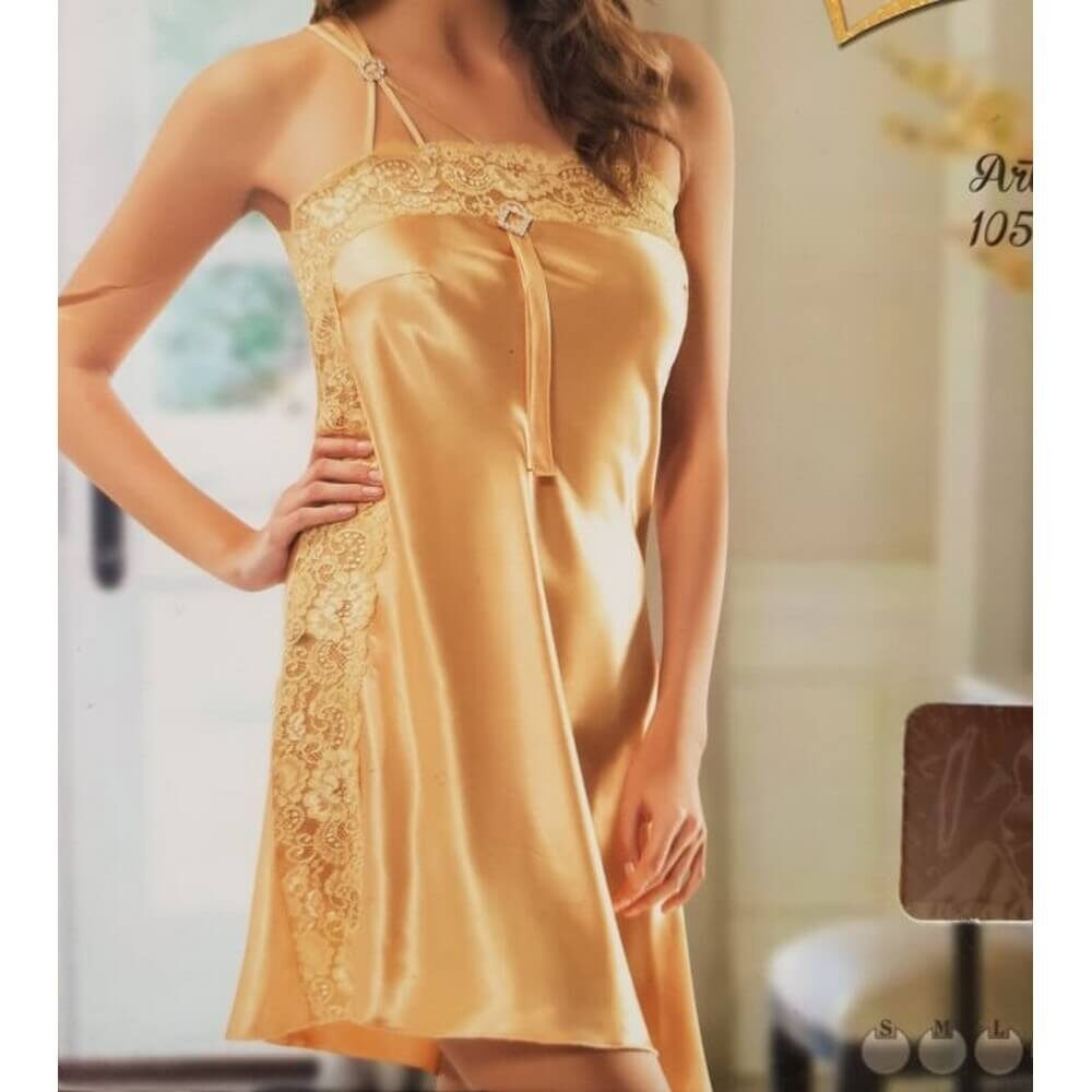 הלבשה סקסית צבע צהוב זהב
