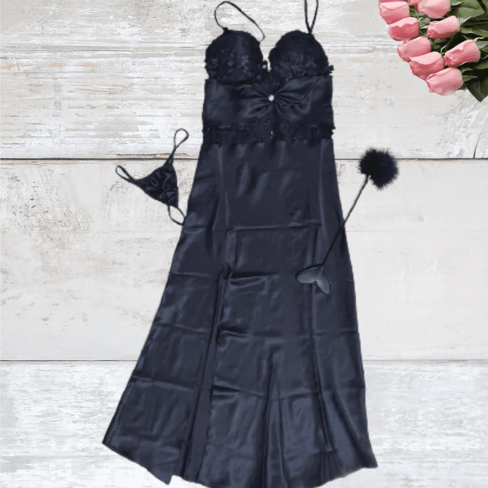 הלבשה סקסית בצבע שחור מקסימה ללילות מיוחדות